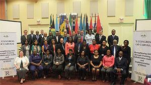 """Het tiende congres van het """"Caraïbische Organisatie van Rekenkamers"""" (CAROSAI)"""